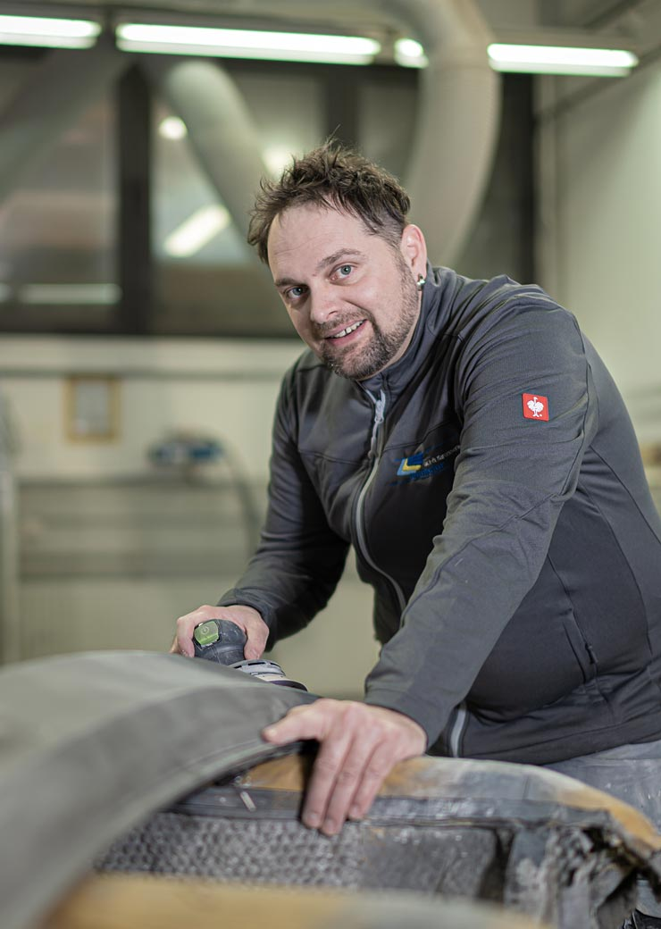 Alex Schmitt Lackierergeselle Lackvorbereitung