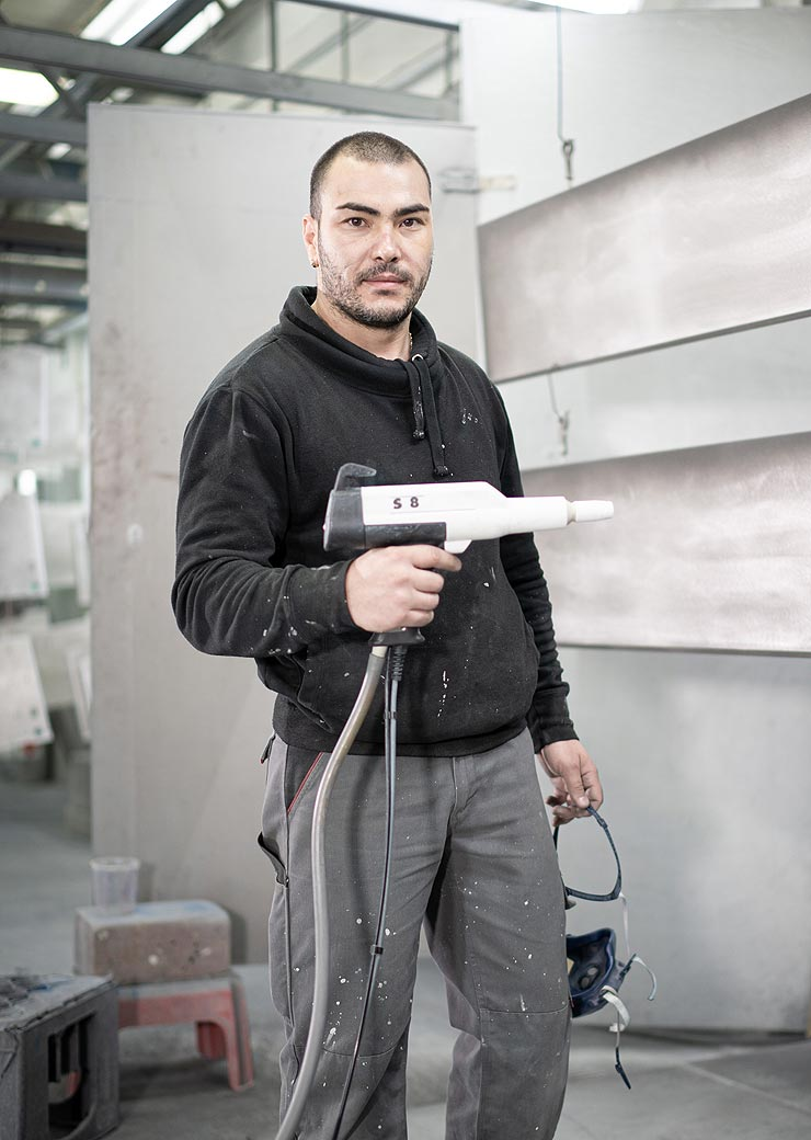 Ivaylo Ivanov Industrielackierer