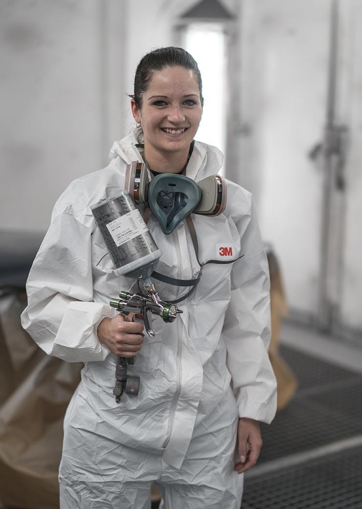 Cornelia Merkl Lackierergesellin Lackierung