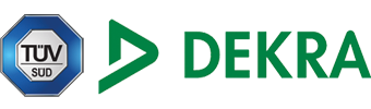 Dekra und TÜV Süd zertifiziert