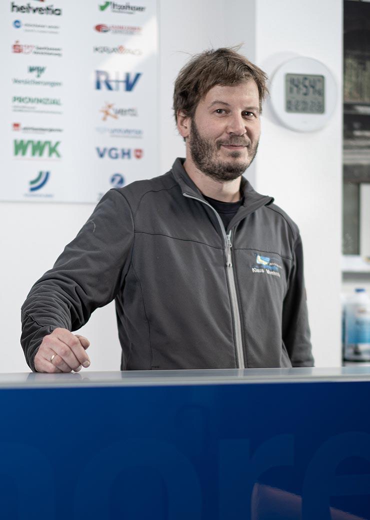 Klaus Menhofer Lackierermeister und Geschäftsführer
